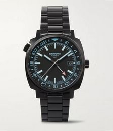 GMT Automatic 40mm Brushed Stainless Steel Watch