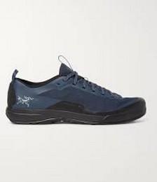 Konseal LT Rubber-Timmed Mesh Hiking Sneakers
