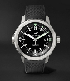 Aquatimer Automatic 42mm Stainless Steel and Rubber Watch