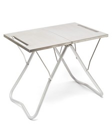 My Table stainless-steel foldable table