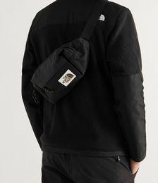 Lumbar Pack Logo-Appliquéd Canvas Belt Bag