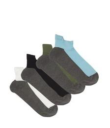 Pack of three merino-blend ankle socks