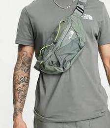 The North Face Lumbnical S bum bag in khaki