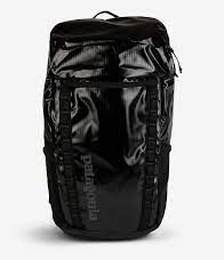 Black Hole recycled-polyester logo-print backpack 32L