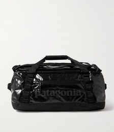 Black Hole 40L Recycled Coated-Ripstop Duffle Bag