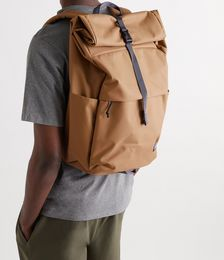Arbor Roll-Top Canvas Backpack