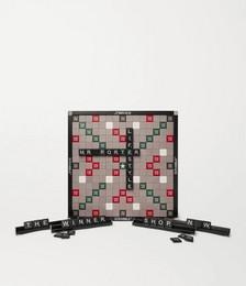 Hanover Leather Scrabble Set