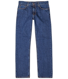 Gritty Jackson blue straight-leg jeans