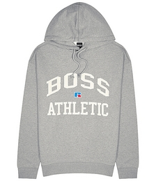 X Russell Athletic grey cotton sweatshirt
