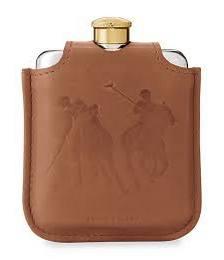 Garrett Leather & Canvas Flask