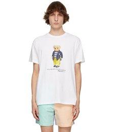 White Polo Bear T-Shirt
