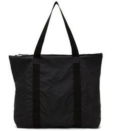 Black Waterproof Tote Bag