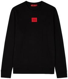 Diragol black logo cotton sweatshirt