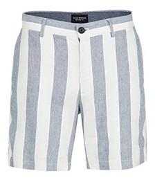Baxter Linen Stripe Shorts