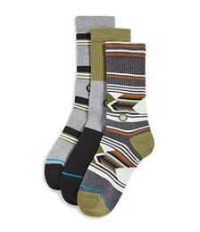Grand 3 Pack Crew Socks