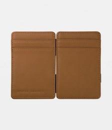 Flip Leather Wallet Tan