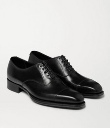 George Cleverley Leather Oxford Shoes