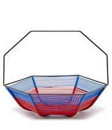 Hexagonal woven basket