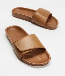 Tenere Leather Slides