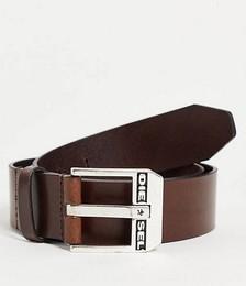 Diesel bluestar belt in tan