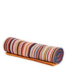 Signature-stripe cotton-terry beach towel