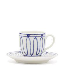 Kyma porcelain mug