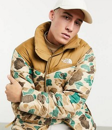 The North Face Recycled 66 Classic cap in beige