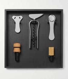 Wine Tool Set and Rack