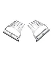 Pulled Pork Forks - Set Of 2 - Stainless Steel