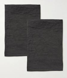 SyuRo Pack of Three Small Linen Dish ClothR