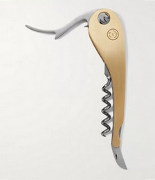 Soft Machine Gold-Tone and Stainless Steel Corkscrew