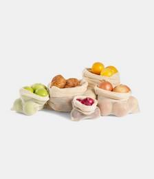 Organic Mesh Produce Bag - Set of 5