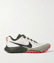 Air Zoom Terra Kiger 7 Rubber-Trimmed Mesh Running Sneakers