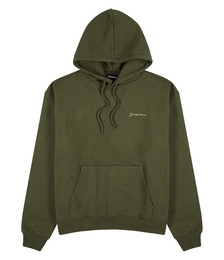 Le Sweatshirt Brodé hooded cotton sweatshirt