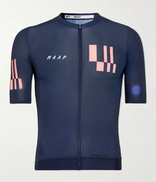 Vapor Pro Printed Recycled Mesh Cycling Jersey
