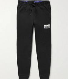 Tapered Logo-Print Dri-FIT Sweatpants