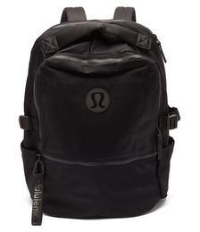 New Crew water-repellent nylon backpack