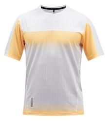 Hot Weather technical-mesh running T-shirt