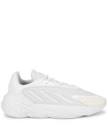 Ozelia white panelled sneakers