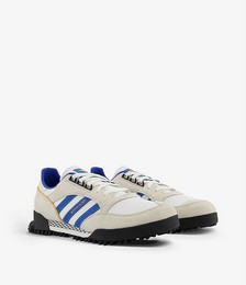 Boston Super X Marathon low-top mesh and leather trainers