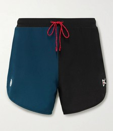 MR PORTER Health In Mind Spino Slim-Fit Stretch-Shell Shorts