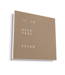 Classic Clock - 45x45cm - Hazelnut