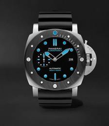 Submersible Automatic 47mm BMG-TECH and Rubber Watch