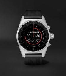 Summit Lite 43mm Aluminium and Nylon Smart Watch, Ref. No. 128410