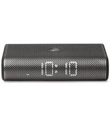 Lexon Miami Time FM Radio Alarm Clock - Black Marble