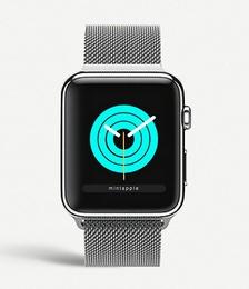 Apple Watch Silver milanese loop strap 38mm/40mm