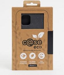 C@se eco premium biodegradable iPhone 11 case in black