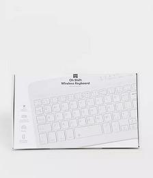 Typo wireless laptop keyboard in white
