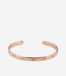 Icon 18ct rose gold bracelet