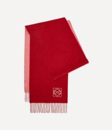 Bi-Colour Wool-Blend Scarf